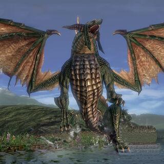 Dragon in Crookfen