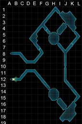 Catacombs eastern area grid