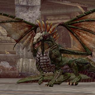 Dragon in Aveclyff