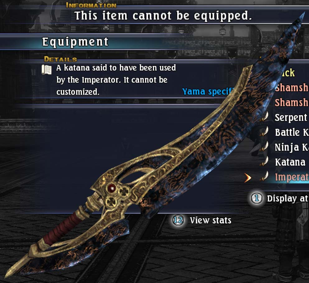 Imperators katana the last remnant wiki fandom powered by wikia imperators katana malvernweather Choice Image