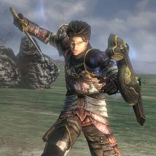 Gabriel in-game