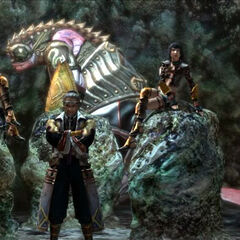 The Seven appearing in the game storyline.