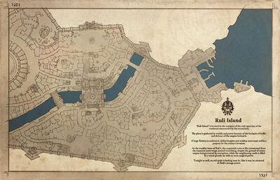 Lazulis City Contept Art