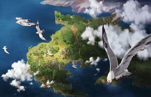 Lazulis Island artwork