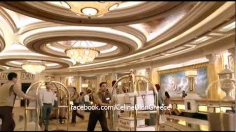 Celine Dion - Caesars Palace 'Delivery' Commercial 2012 HD