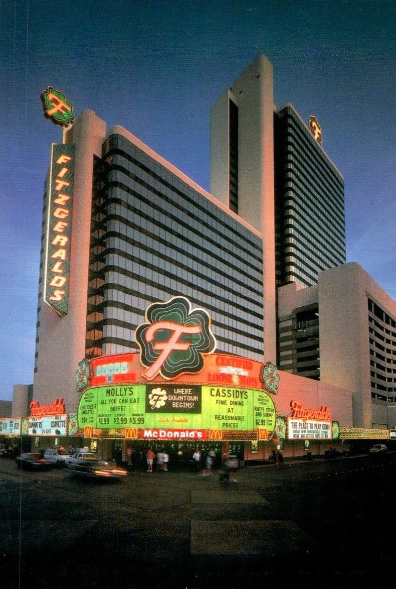 Fitzgeralds casino and hotel in las vegas wisconsin sales tax appeals video gambling