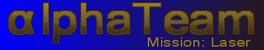 AlphaTeam Mission Laser Logo