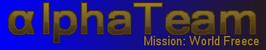 AlphaTeam Mission World Freece Logo