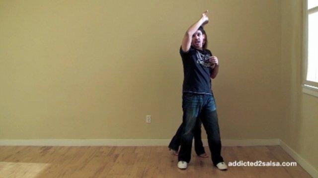 Advanced Salsa Dancing Blind Loop-Over Locks