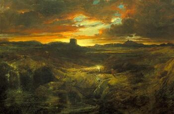 Thomas Moran Childe Roland to the Dark Tower Came 1859