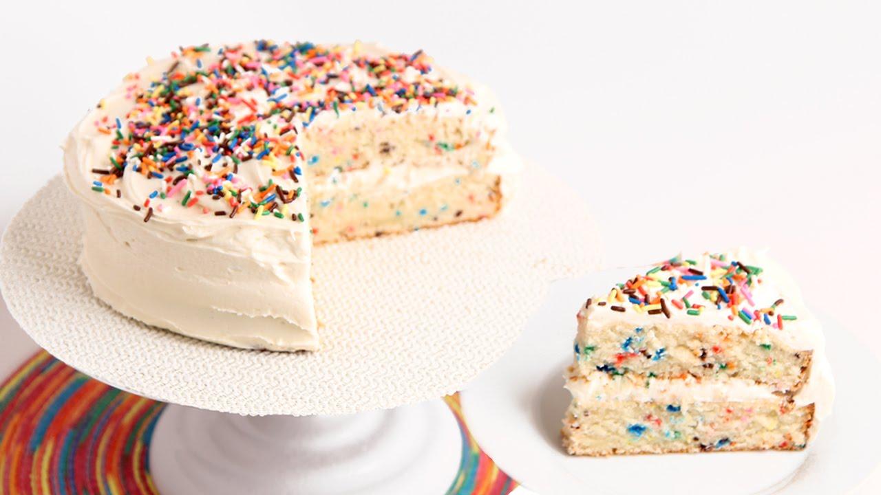 Confetti Birthday Cake | Laura in the kitchen Wiki | FANDOM powered ...