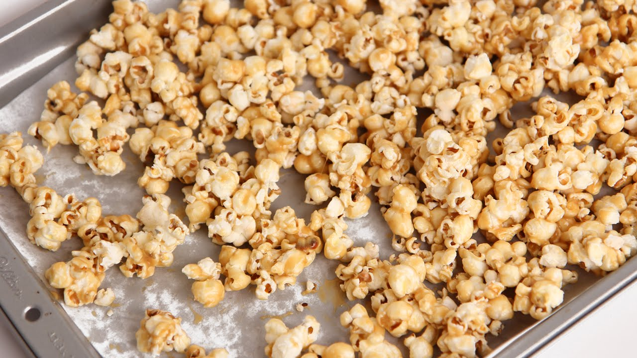 Caramel popcorn laura in the kitchen wiki fandom powered by wikia caramel popcorn forumfinder Images