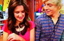 Austin and Ally smiling