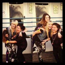 Laura, Rydel and Raini