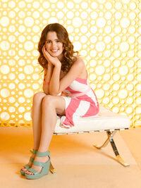 Laura sitting