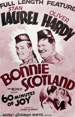 Lh bonnie scotland poster