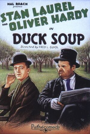 Lh duck soup poster