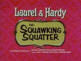 Squawking Squatter