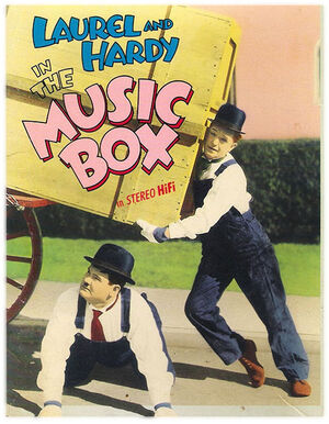 Lh the music box poster