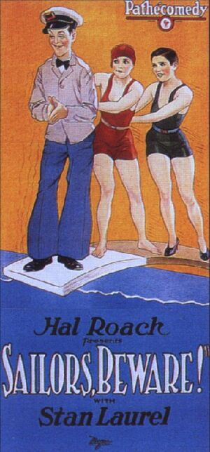 Lh sailors beware poster