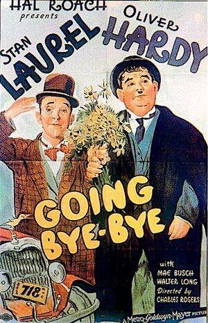 Lh going bye bye poster