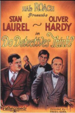 Lh do detectives think poster