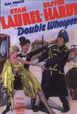 Lh double whoopee poster