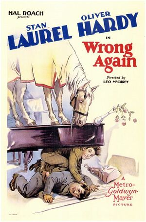 Lh wrong again poster