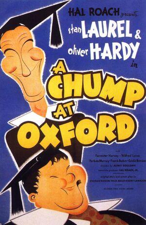 Lh chump at oxford poster