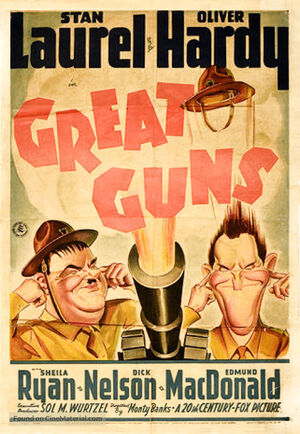 Lh great guns poster