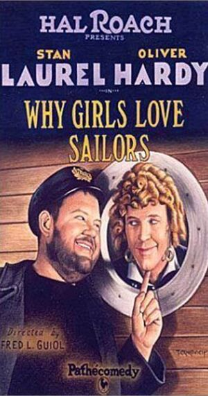 Lh why girls love sailors poster