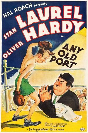 Lh any old port poster