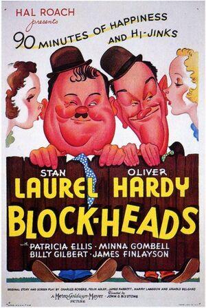 Lh block heads poster