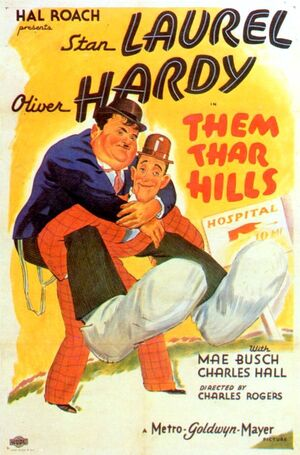 Lh them thar hills poster