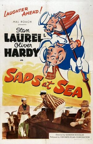 Lh saps at sea poster