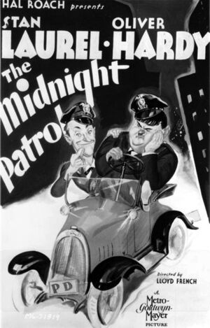 Lh midnight patrol poster