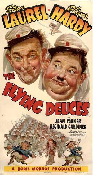 Lh flying deuces poster
