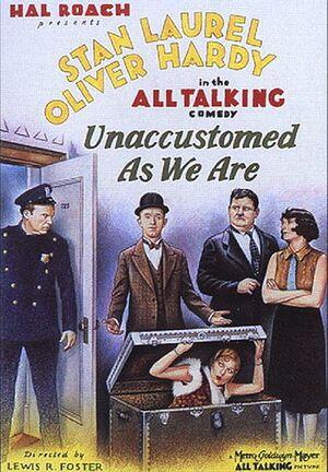 Lh unaccustomed poster