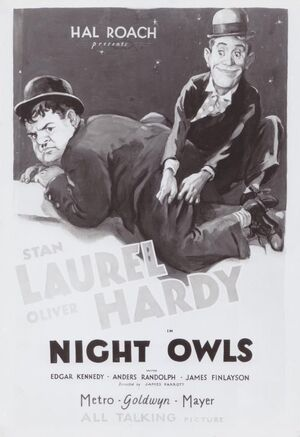 Lh night owls poster