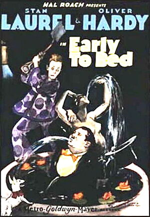 Lh early to bed poster