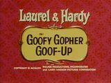 Goofy Gopher Goof-Up