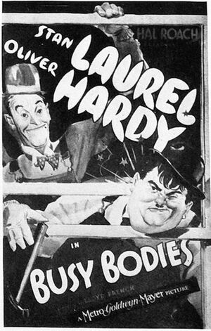 Lh busy bodies poster