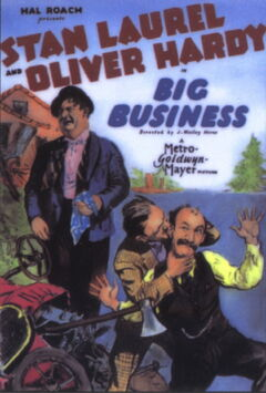 Big Business Theatrical Poster