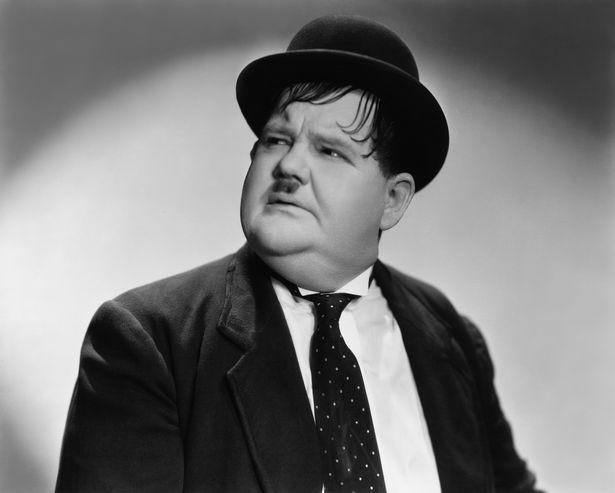 Oliver Hardy funeral