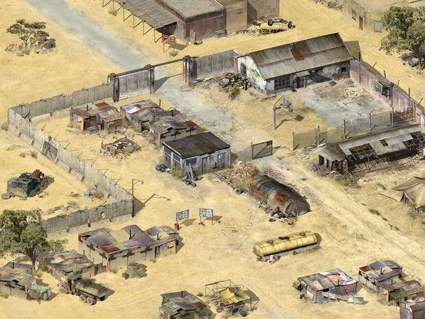 Лагерь северного альянса в вади хальфе