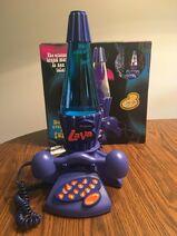 Lava lamp telephone