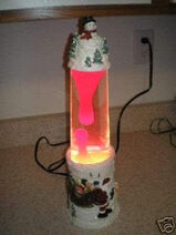 Christmas-snowman-lava-lamp-reindeer-scene-red 1 ec1c54cbc5b3bd75bea33626d3e60191