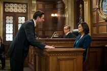 Lewis at trial with Olivia