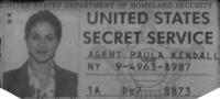 US Secret Service ID