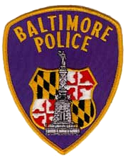 Baltimore Police Department logo patch
